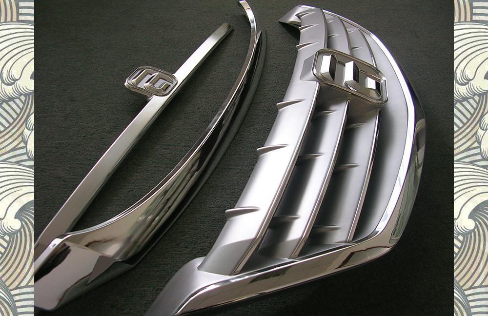 进气格栅1-CNC手板