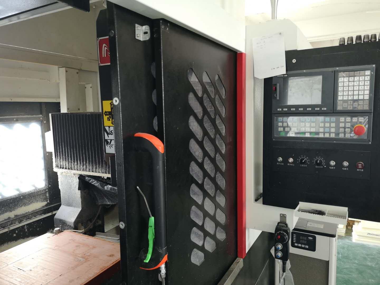 机器设备-CNC机床操控界面